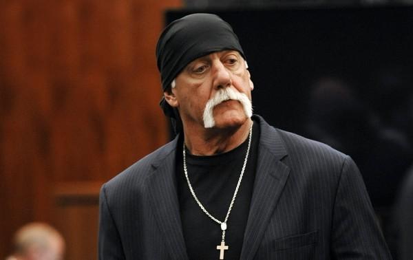 美國職業摔角賽(WWE)前明星選手霍根(Hulk Hogan)。(資料照,美聯社)