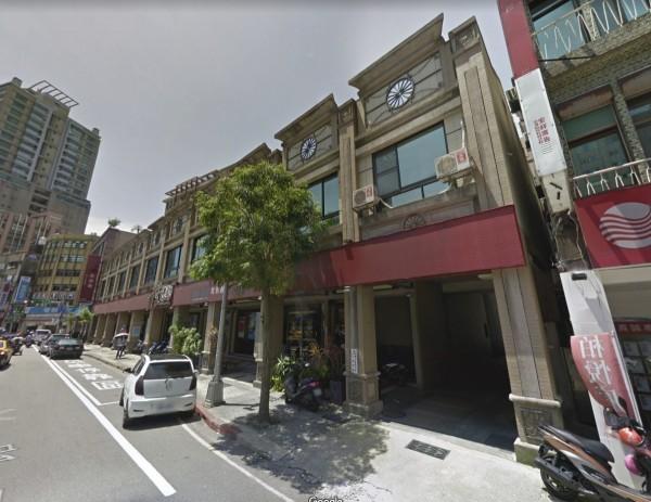國壽公告以4.8億元向新僑建設買下基隆市仁一路全棟大樓。(圖擷取自Google地圖)