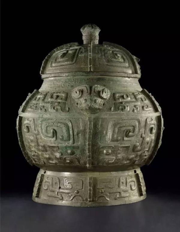 商晚期青銅饕餮紋瓿。(取自《金羊網》)