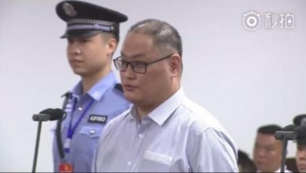 李明哲疑「被認罪」引發輿論熱議。(擷取自岳陽法院剪輯直播畫面)