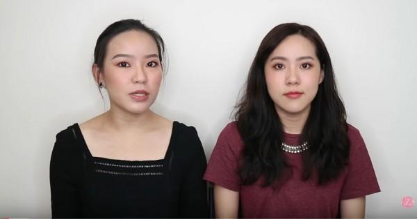 姊妹美妝影音部落客Live an insight,也有不少粉絲定期關注她們的美妝資訊。(圖擷取自Youtube)