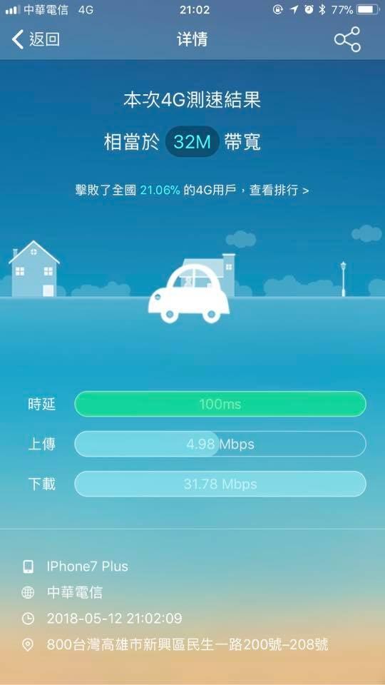 另一名使用中華電信的網友回應說,「我的比你慘你還比我好」。(圖擷自爆怨公社)