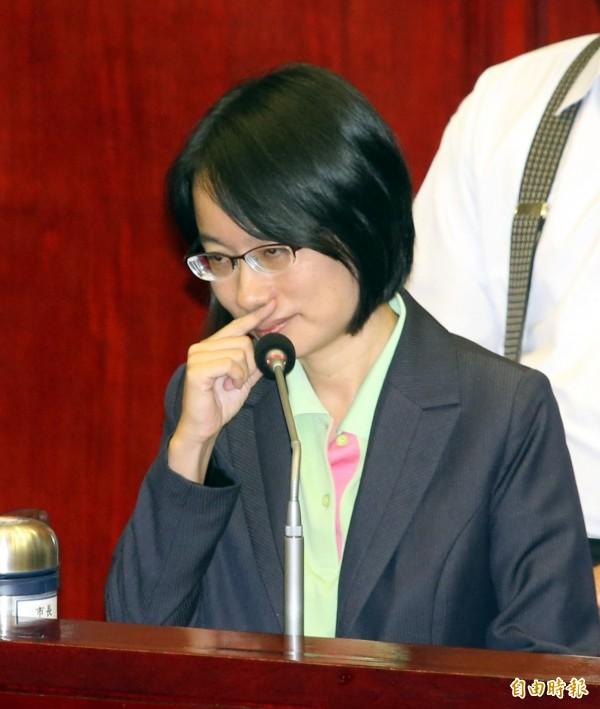 台北農產公司總經理吳音寧日前在北市議會答詢時遭砲轟。(資料照)