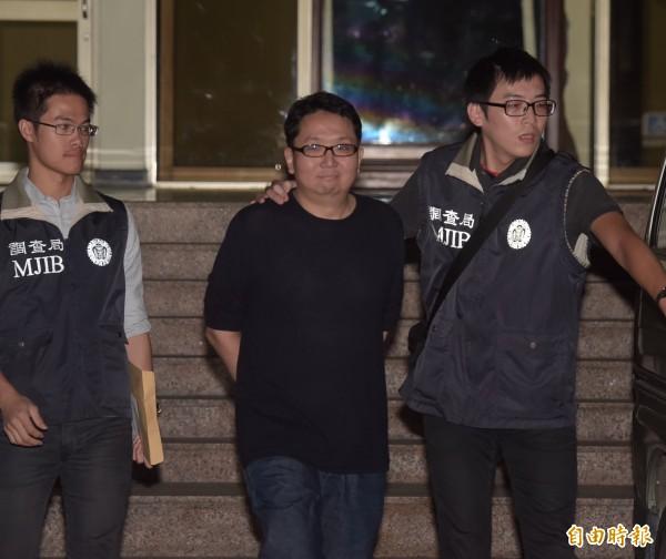 樂陞宣布將向董事長許金龍(中)、前董事謝東波等人求償,要求兩人須賠償逾16億元。(資料照,記者黃耀徵攝)