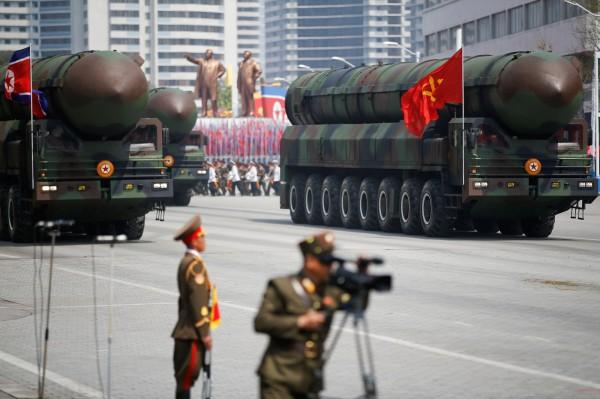為抵禦北韓中長程飛彈威脅,美國將在5月測試攔截飛彈能力。(路透)