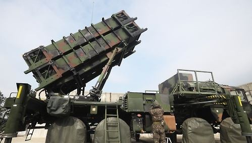 南韓軍方為了加強首都圈反飛彈力量,未來會將一支原部署於大邱地區的愛國者飛彈部隊北調。(圖擷取自韓聯社)
