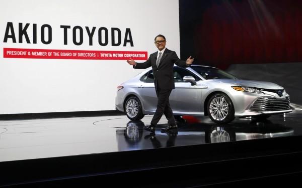 豐田汽車社長豐田章男宣布,豐田汽車將在今後5年的時間,將美國投資100億美元。(路透)