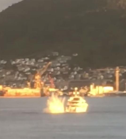 挪威一架直升機意外墜海,其中一名乘客傳出為香港TVB主席陳國強。(圖片擷取自網路)