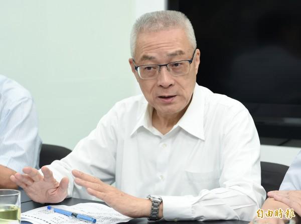 前副總統、國民黨主席當選人吳敦義。(資料照,記者廖振輝攝)