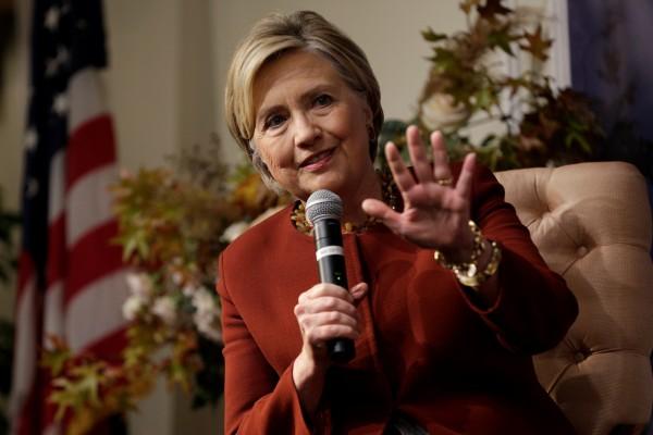 據傳希拉蕊擔心柯林頓的性醜聞會影響到其政治前途。(路透)