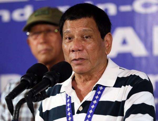 菲律賓總統杜特蒂昨日曾要求要歐盟使節在24小時內離開菲律賓。(歐新社)