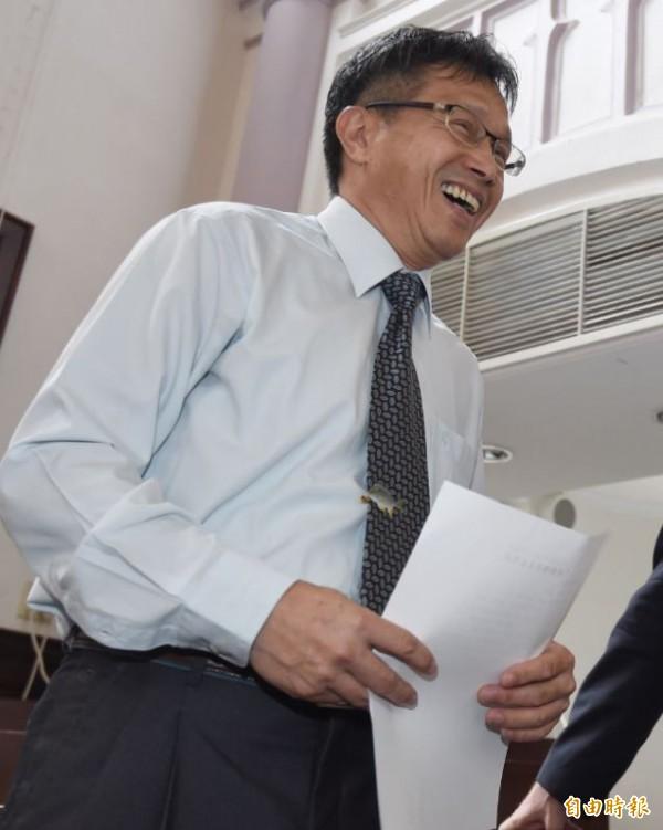 謝志偉表示,蔡英文政府國內外的外交團隊對「Taiwan」的專業和用心,外界不必懷疑。(資料照,記者劉信德攝)
