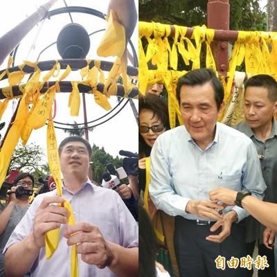國民黨高層郝龍斌、前總統馬英九先後進入台大校園護管,律師黃帝穎對此諷刺,「大學自治不是黑幫圍事」。(資料照)