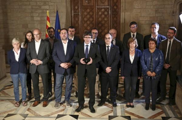 加泰隆尼亞公投脫離西班牙 90%選民投贊成票!