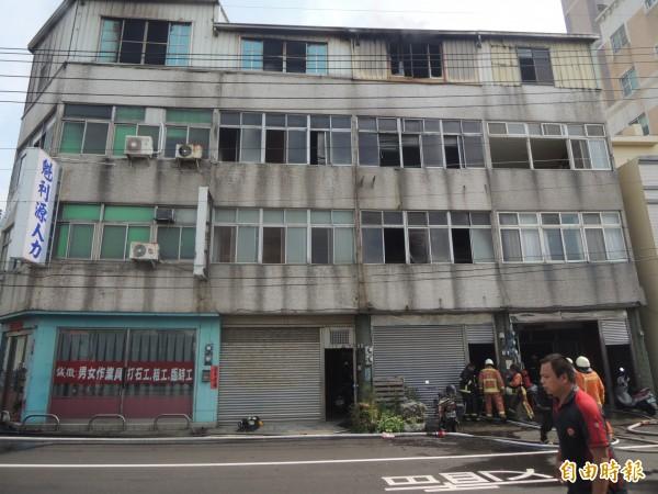 陳男放火燒屋阻止父母逃出,最終3人都死亡。(資料照,記者張軒哲攝)
