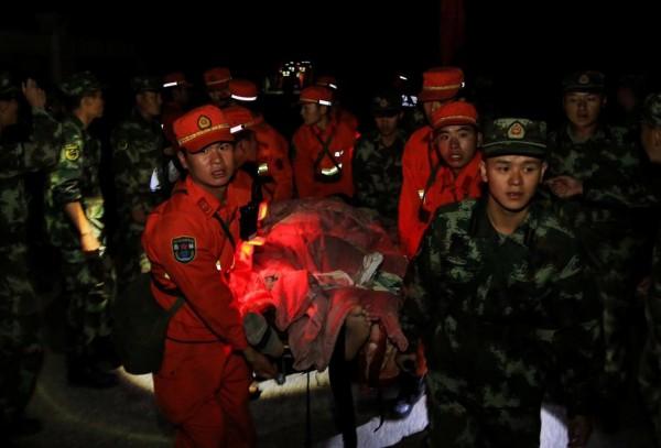 九寨溝昨晚間發生芮氏規模7.0地震,造成多人死傷。(路透)