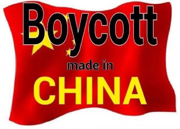有印度網友發起全面抵制中國商品,打著「不轉發不是印度人」的口號,引起熱烈響應。(圖擷取自推特)