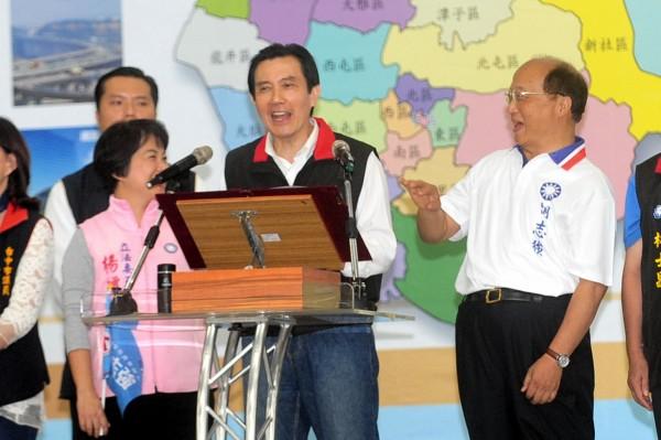 針對最近的黑心油風暴,現任總統馬英九認為前總統陳水扁要負最大責任。(資料照,記者廖耀東攝)