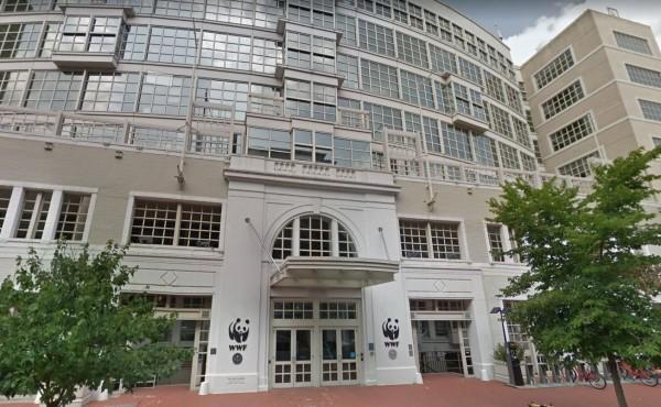 歐巴馬的辦公室位於華盛敦特區的世界自然基金會(WWF)的大樓內。(圖擷自Google街景)