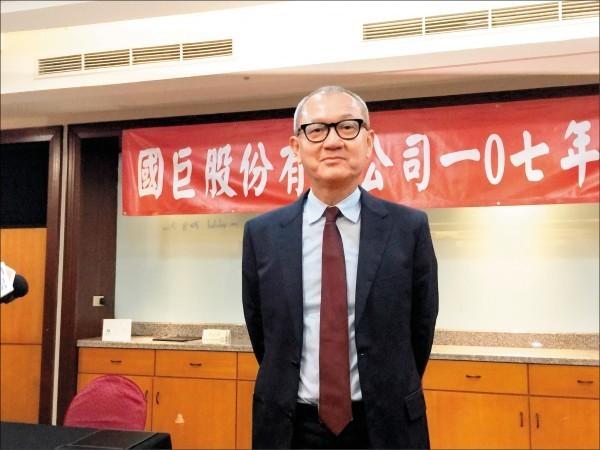 國巨昨董事會通過回台投資案,3年內在高雄投入100億元。圖為國巨董事長陳泰銘。(資料照)