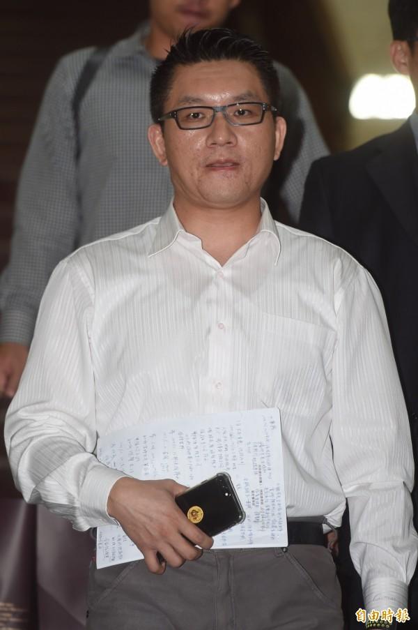台北市議員童仲彥。(資料照)
