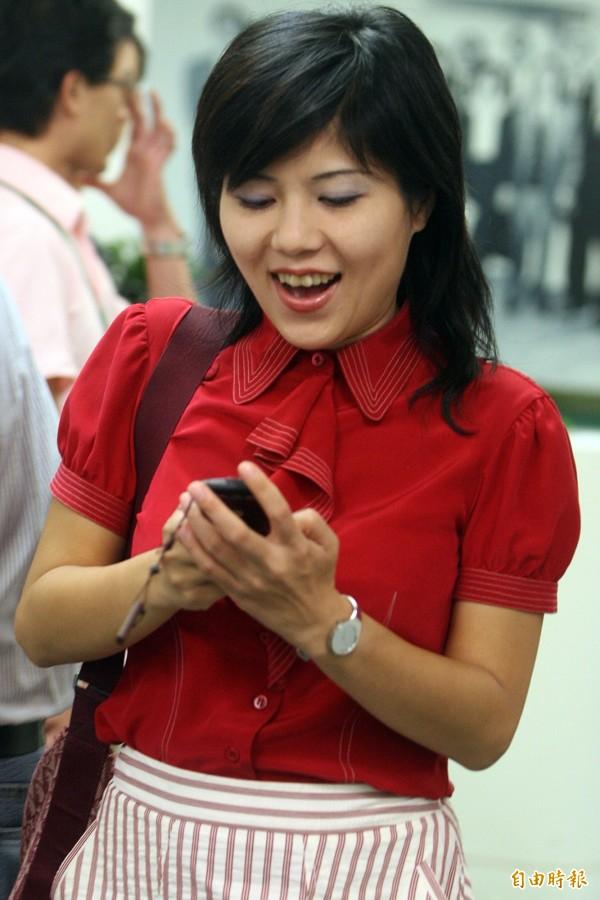 華航董事長何煖軒今證實,華旅網際旅行社董事長將由前立委謝欣霓(圖)出任,並自9月1日生效。(資料照,記者王藝菘攝)