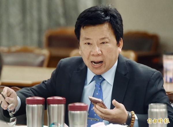 李俊俋指出,內政委員會排審《兩岸協議監督條例》草案,民進黨團會面對處理,不會讓委員會流會。(資料照,記者廖振輝攝)