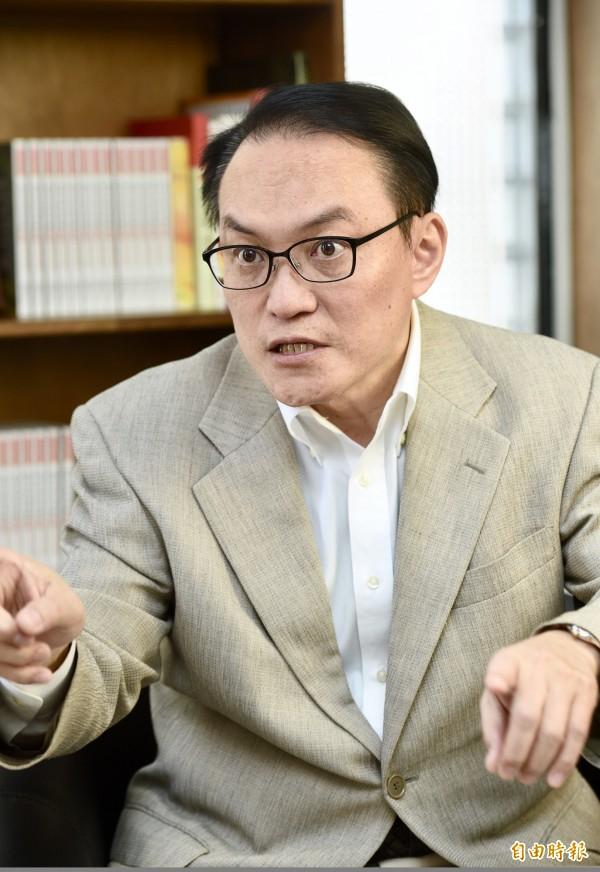 台北市前副市長邱文祥。(資料照)