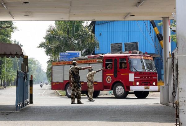 印度造船廠爆炸,造成5死3傷。(路透)