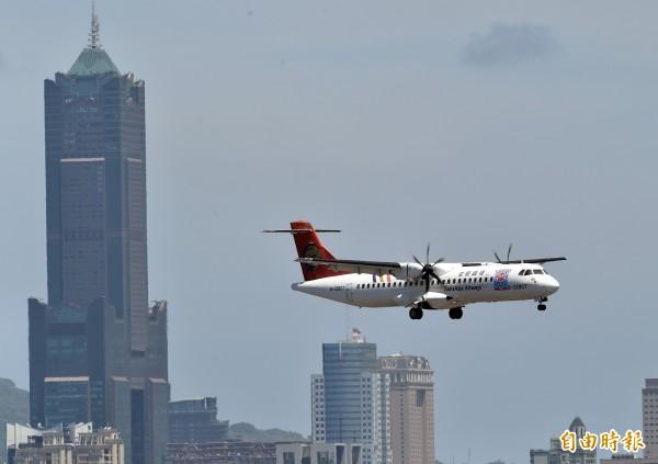 復興航空抵債飛機確定買主。(資料照,記者張忠義攝)
