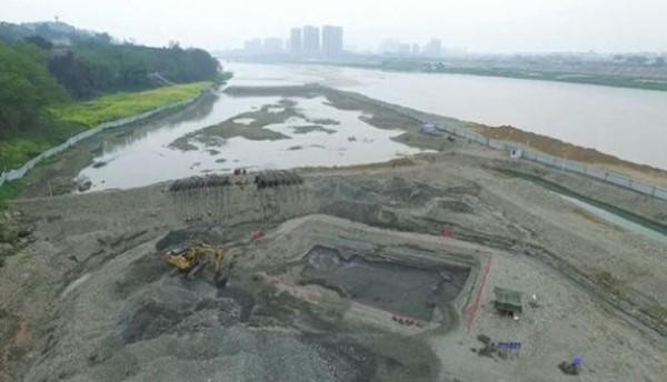 考古現場。(圖擷取自新華網)