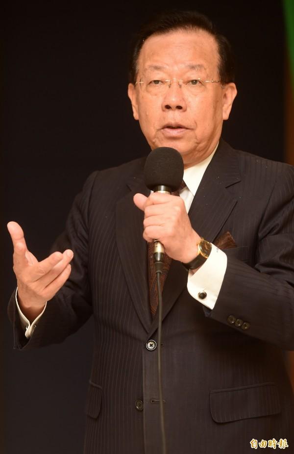 前財政部長及駐WTO首任大使顏慶章表示,台灣需要參與區域經濟組織,但看區域經濟整合,應著重深度、涵蓋範圍,並非追求數量。(資料照,記者簡榮豐攝)