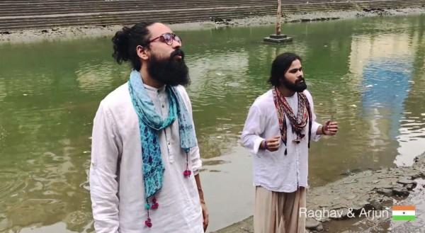 「和平之歌」邀請印度歌手演唱。(圖擷自YouTube)