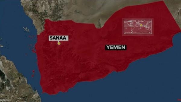 位於葉門首都沙那(Sanaa)的一間清真寺遭到自殺式炸彈襲擊。(圖擷自Wgntv)