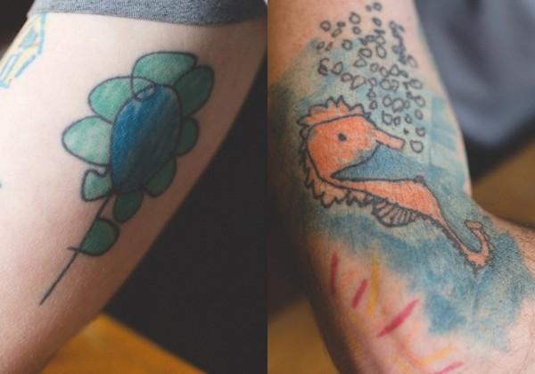 纹身国徽图案分享展示