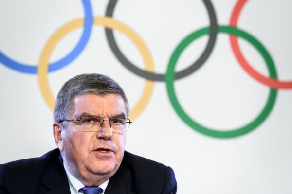 國際奧委會主席巴赫宣布,明年2月舉行的平昌冬季奧會,俄羅斯將被禁賽。(法新社)