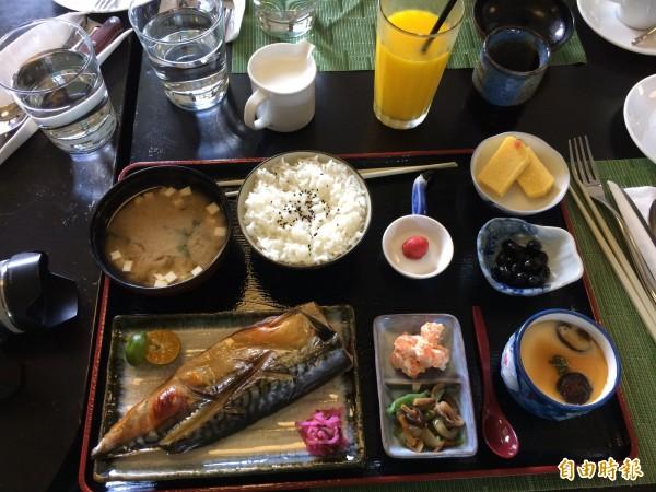 日本研究發現,經常不吃早餐的人比起每天吃早餐的人多出1.18倍的中風風險。圖為日式早餐。(資料照,記者林嘉琪攝)