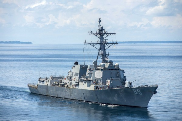 《路透》報導,美國正在考慮再派軍艦通過台灣海峽。圖為美國海軍伯克級驅逐艦馬斯廷號(DDG-89)。(擷取自美國海軍官網)