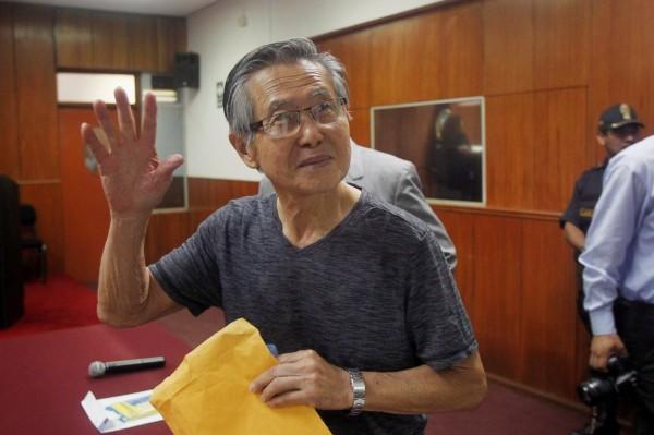 祕魯總統宣布 特赦貪汙入獄的前總統藤森