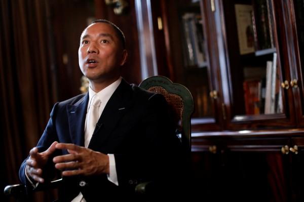 郭文貴今日表示,美國對台灣的所有看法和戰略定位,已經「徹底改變」,呼籲台灣政府一定要準備好。(路透資料照)