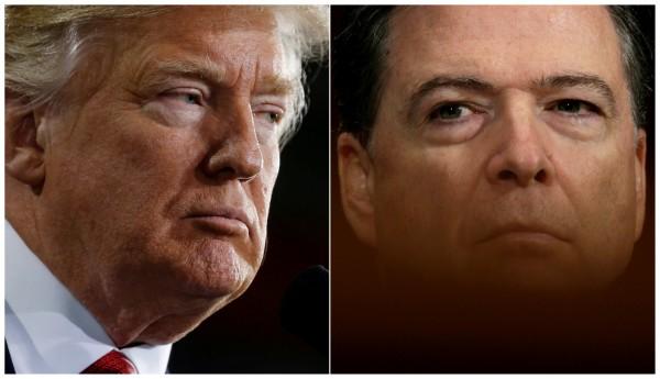 美媒爆料,美國總統川普曾當著俄羅斯官員的面,稱前FBI局長柯米是「瘋子」。(路透)