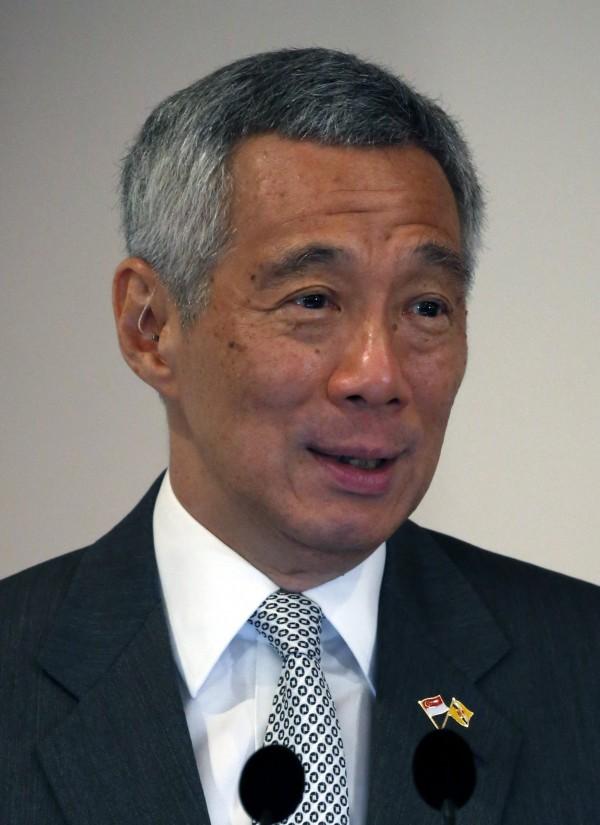 新加坡總理李顯龍。(歐新社)