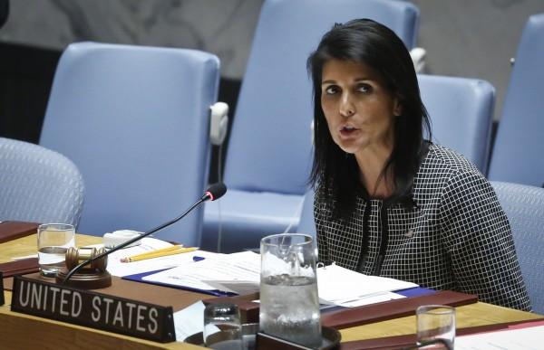 美駐聯合國大使海利表示,美國並不想與北韓發生衝突,北韓只要不惹事,美國就沒有與其衝突的理由。(美聯社)