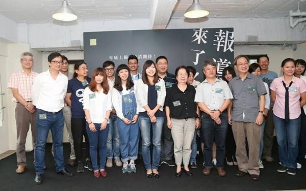 「報導者」(The Reporter)選在今天宣布成立,由前《天下雜誌》總主筆何榮幸和前香港《號外》雜誌主編張鐵志共同創辦。(圖擷自「報導者The Reporter」臉書專頁)