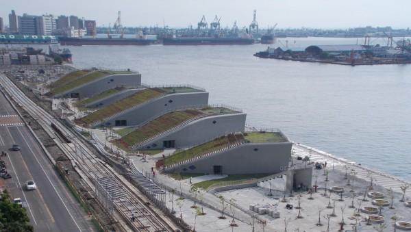 高雄第一座國際級電競館,預計將於10月啟用。(記者陳文嬋翻攝)