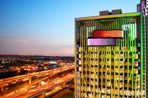 The Four Points by Sheraton Linkou hotel in New Taipei City is pictured on Thursday.