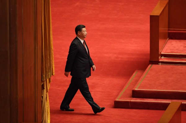 有專家表示,中共統一已定出「最後大限(Deadline)」,兩岸只剩30年時間博弈。(法新社)