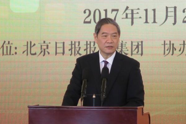 中國國台辦主任張志軍今發表新年賀詞,強調新的一年,將繼續堅持「一個中國」與「九二共识」,反對、遏止分裂行動。(中央社)