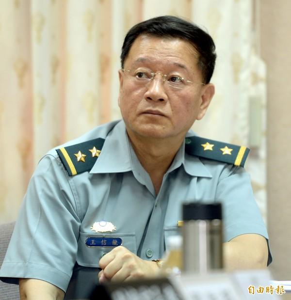 陸軍司令邱國正將接任新任總長,至於陸軍司令一職則由參謀本部副參謀總長王信龍(見圖)接任。(資料照,記者林正堃攝)