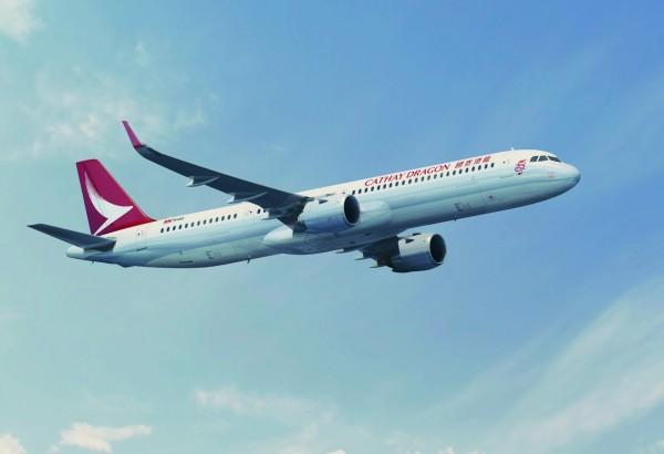 受泰利颱風影響,明日部分航空取消班機,其中國泰航空、AirAsia明、後天都有部分航班取消。(資料照,業者提供)